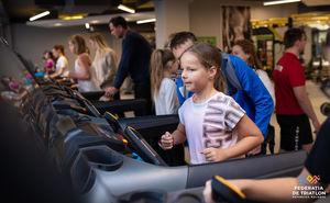 Число болельщиков на Kids Indoor Triathlon ограничено