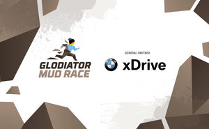 BMW xDrive became partner of obstacle race - Glodiator MUD RACE 2019
