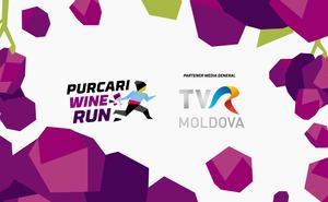 TVR Moldova aduce cursa Purcari Wine Run 2018 pe ecrane