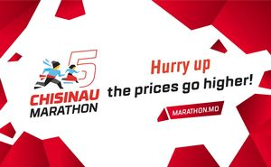 Hurry and register for Chisinau Marathon until the prices go higher!