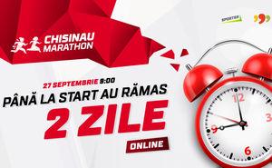 Până la startul Online Chisinau Marathon 2020 au mai rămas 2 zile