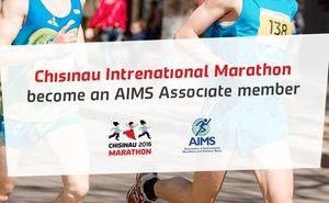 Chisinau Marathon became an associate member of the AIMS