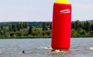 Пропал надувной буй Sporter на водохранилище Гидигич!
