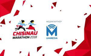 UNIMEDIA поддерживает участников Chișinău International Marathon
