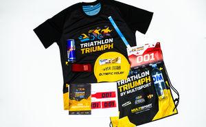 Стартовый пакет участника Triathlon Triumph by Multisport 2018
