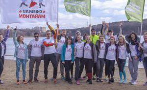 Компания Simpals коллективно готовится к Кишиневскому Марафону