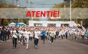 Atenție! Locurile pentru participare la maraton sunt limitate