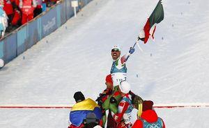 Триатлонист встал на лыжи и стал героем Олимпиады 2018