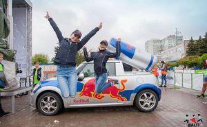 Red Bull окрыляет участников велогонки Chisinau Criterium