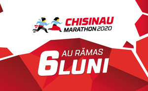 Până la startul Chisinau International Marathon 2020 au rămas șase luni
