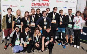 Chișinău International Marathon способствует командному взаимодействию!