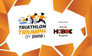 Novoe Radio offers Triathlon Triumph support via music and information