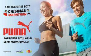 PUMA – partener cursei semi-maraton la Maratonului de la Chișinău