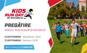 Începem să ne pregătim de competiția pentru copii Kids Run Day