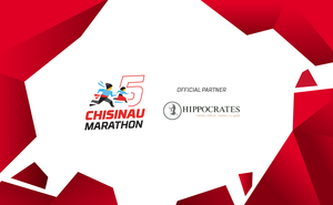 """Hippocrates at Chisinau Marathon means """"Care is always there!"""""""