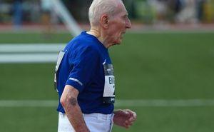Bărbatul de 96 de ani a stabilit un record mondial la distanța de 5 km