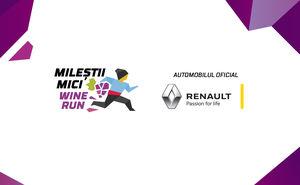 Electromobile Renault Z.E. va da startul cursei Mileștii Mici Wine Run