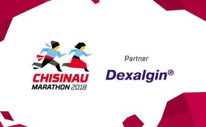 Dexalgin - Stop the pain and come to Chisinau International Marathon