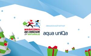 Aqua unIQa готовится к забегу Maratonul de Crăciun by Naturalis