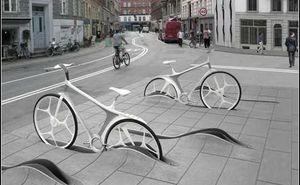 Как можно парковать велосипеды: интересные примеры (Фото+Видео)