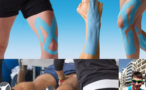 Kinesiotaping from the official kinesiotherapist of Chisinau Marathon