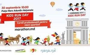 Începe înregistrarea la cursa pentru copii Kids Run Day 2017