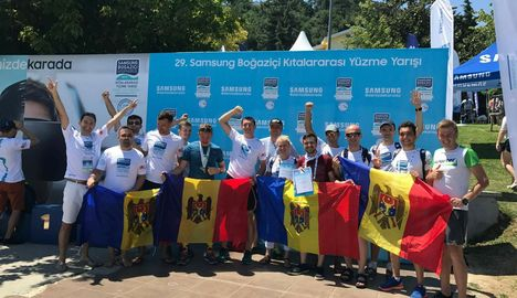24 спортсмена из Молдовы на кросс-континентальном заплыве через Босфор