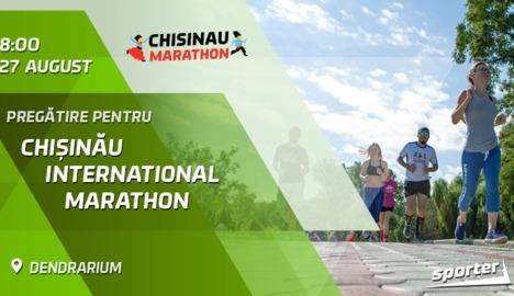 Duminică ne pregătim pentru Chisinau Marathon