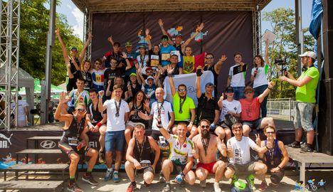 În Chișinău s-a desfășurat prima ediție Triathlon Triumph