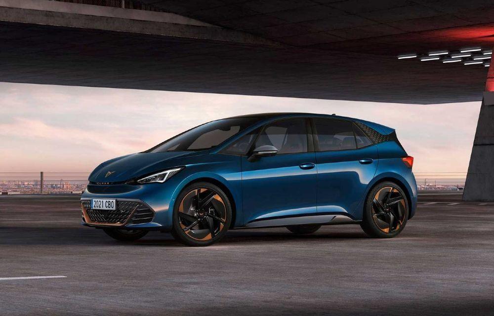 Primul model electric Cupra a debutat: Autonomie de până la 540 km