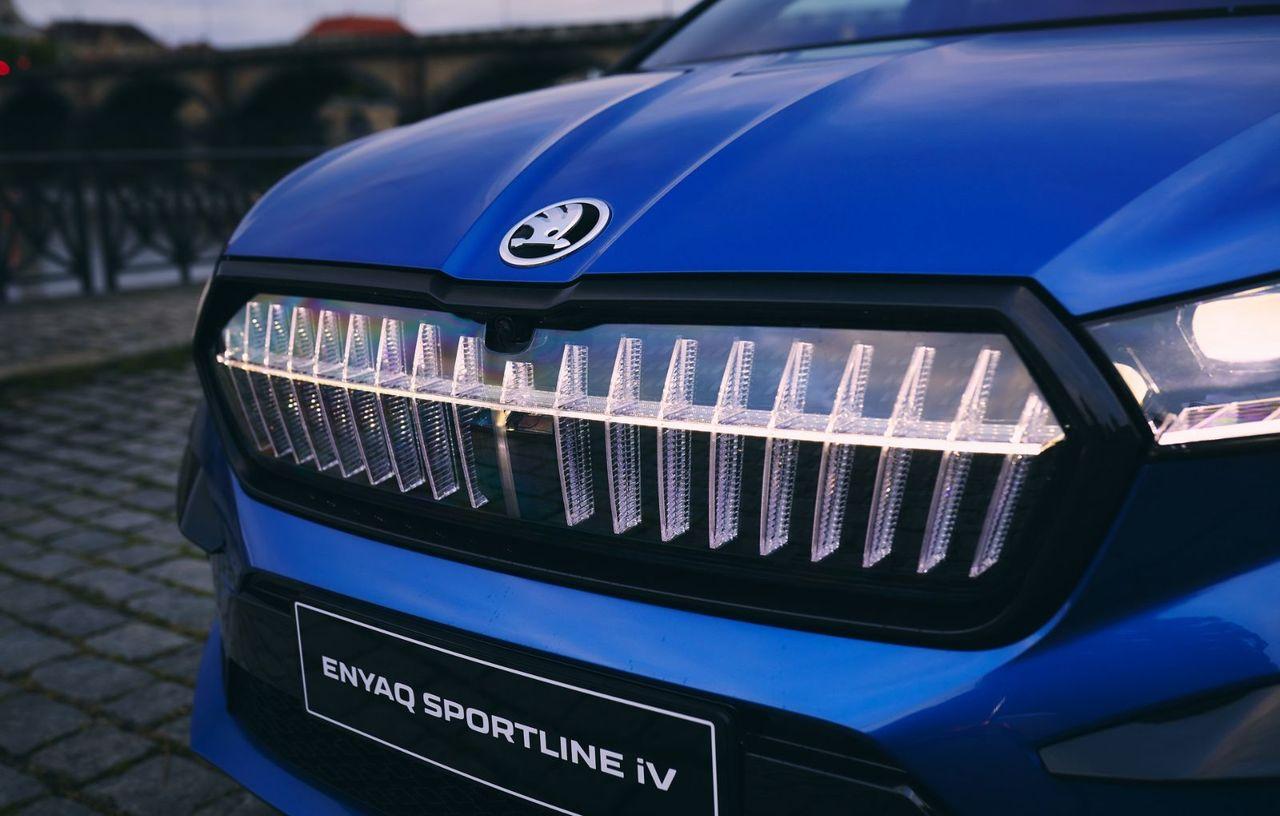 Skoda completează gama Enyaq iV cu versiunea de top Sportline iV 80x