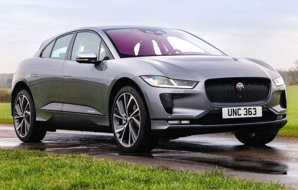 Jaguar prezintă noul I-Pace facelift: Încărcarea bateriei e mai rapidă