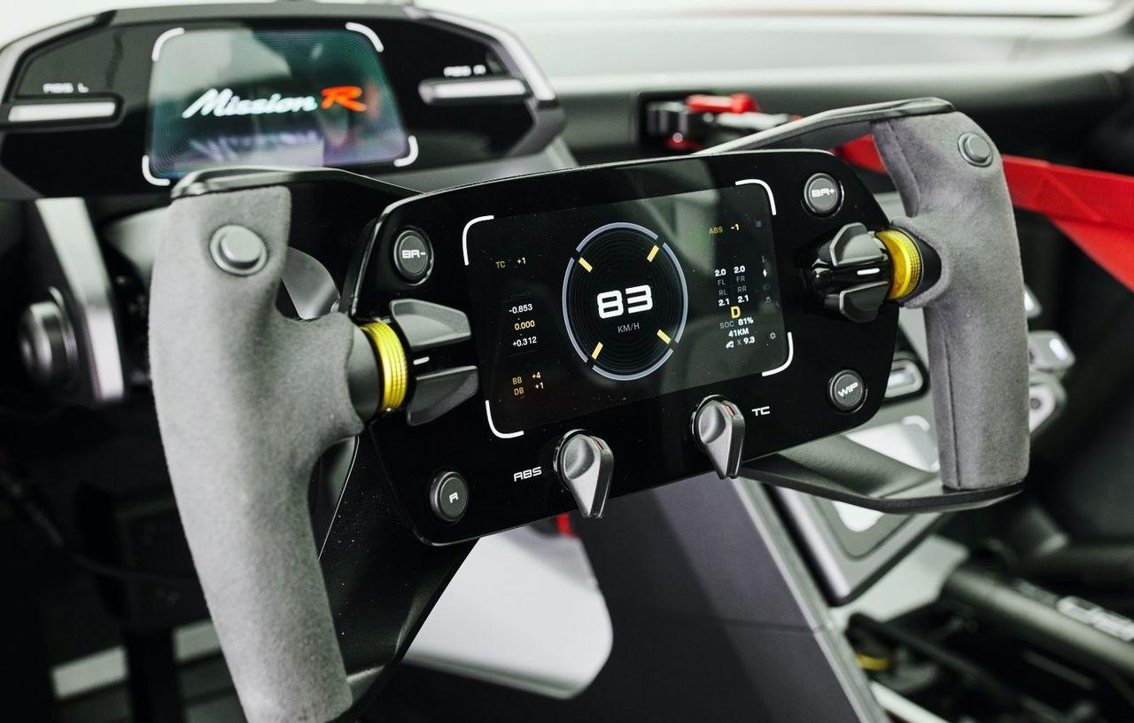 Conceptul Porsche Mission R: Până la 1.088 CP și 100 km/h în 2.5 secunde
