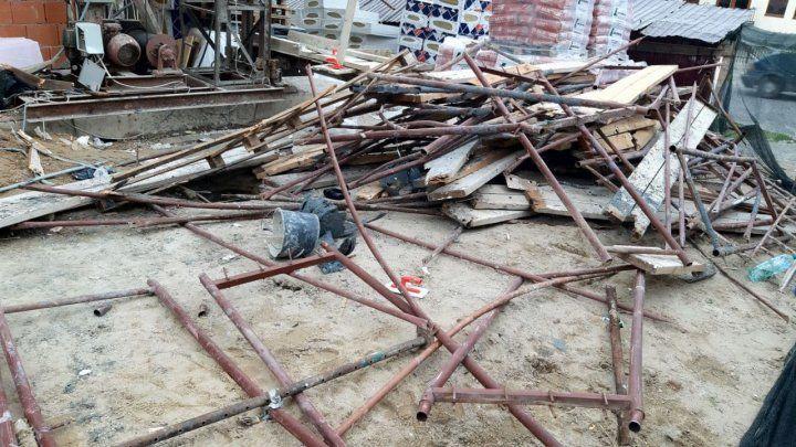 Accident de muncă la Botanica: Starea muncitorilor căzuți de la etajul 9