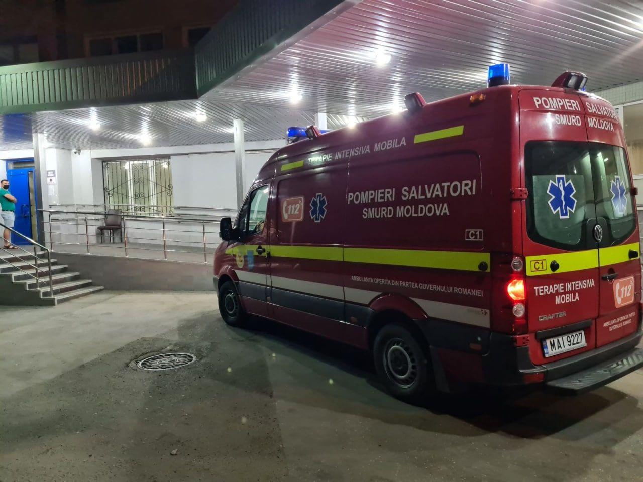 Deputatul PAS accidentat în Bulgaria a fost internat la spital