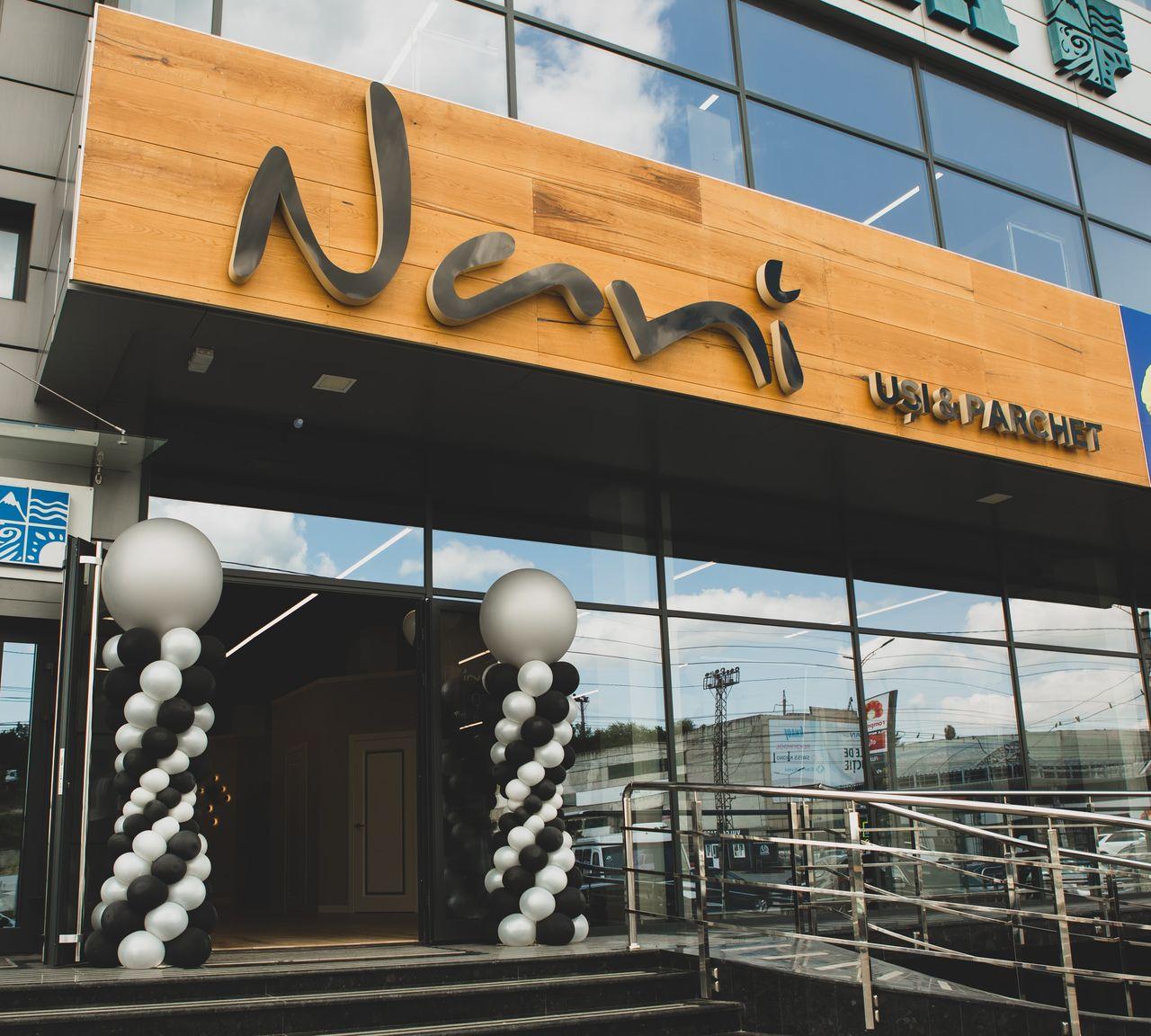 Fabrica de Uși & Parchet «Nani» anunță reduceri la deschiderea noului showroom Ⓟ