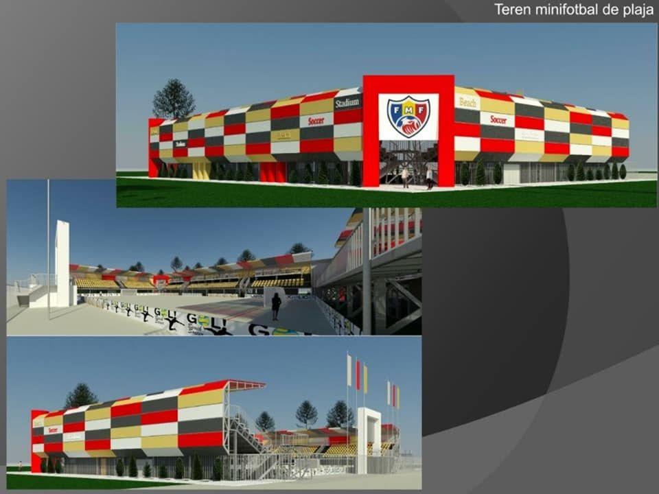 В парке La Izvor построят стадион для пляжного футбола