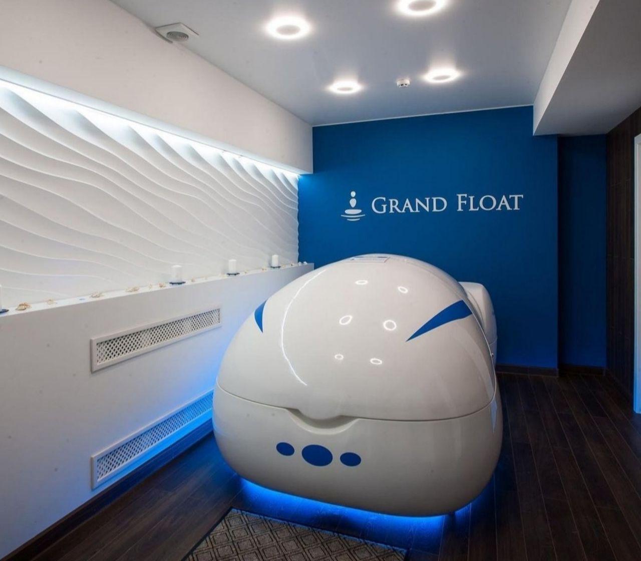 Grand Float: Descoperă Floatingul - tratamentul de ameliorare a stresului Ⓟ