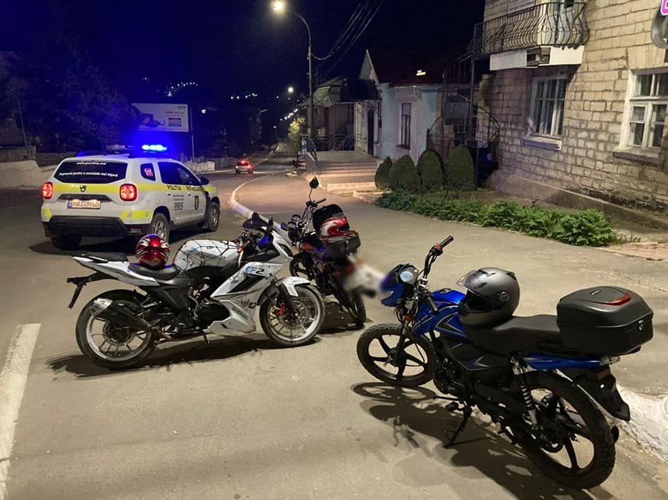 Motocicliștii, în vizorul poliției: 45 de motocicliști, documentați