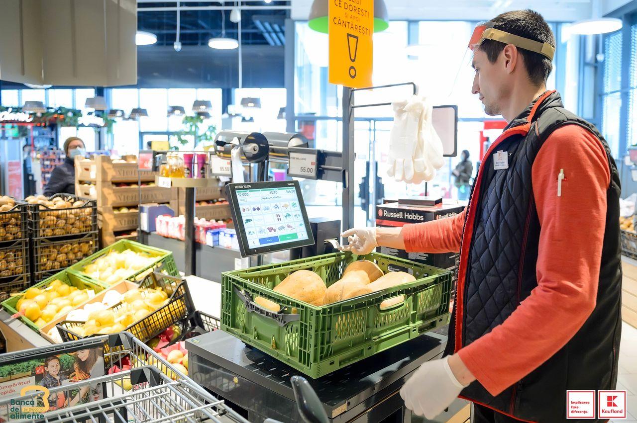 Kaufland continuă parteneriatul cu Banca de Alimente pentru reducerea risipei alimentare Ⓟ