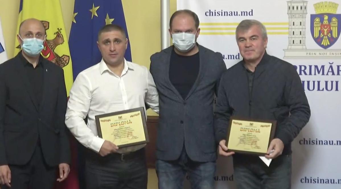 Campionii mondiali au fost premiați la Chișinău pentru succese