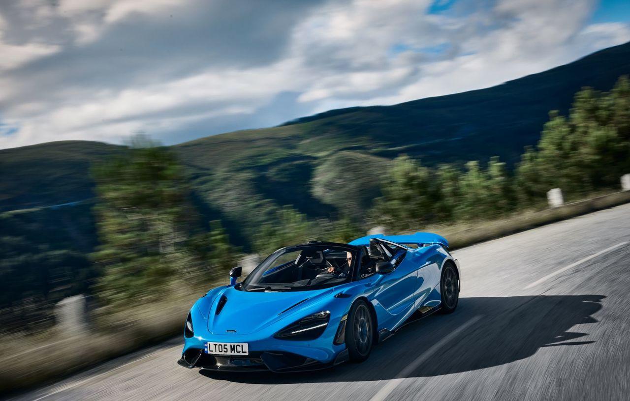 McLaren lansează noul 765LT Spider: Atinge 100 km/h în 2.8 secunde