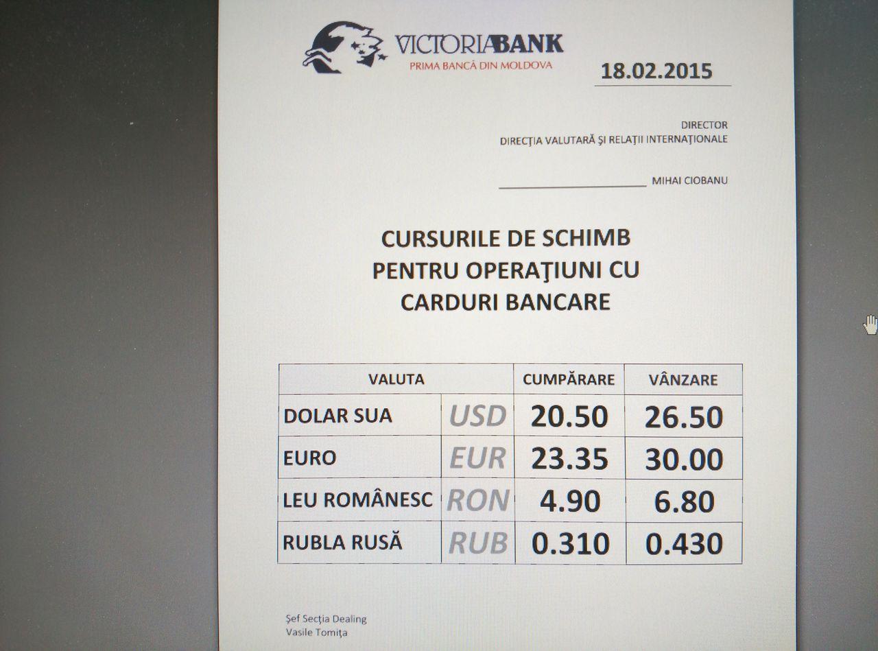 curs valutar leu romanesc