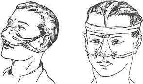 Как сделать повязку на носа
