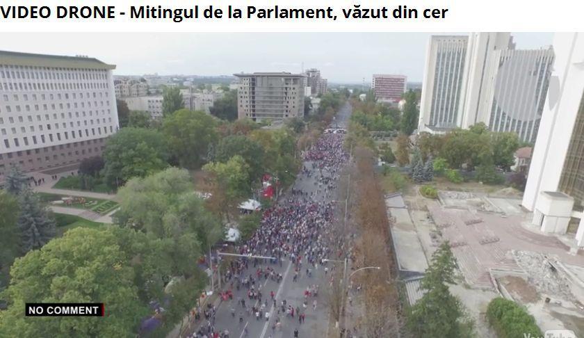 Протестующие в Кишиневе требуют отставки руководства Молдовы - Цензор.НЕТ 7885