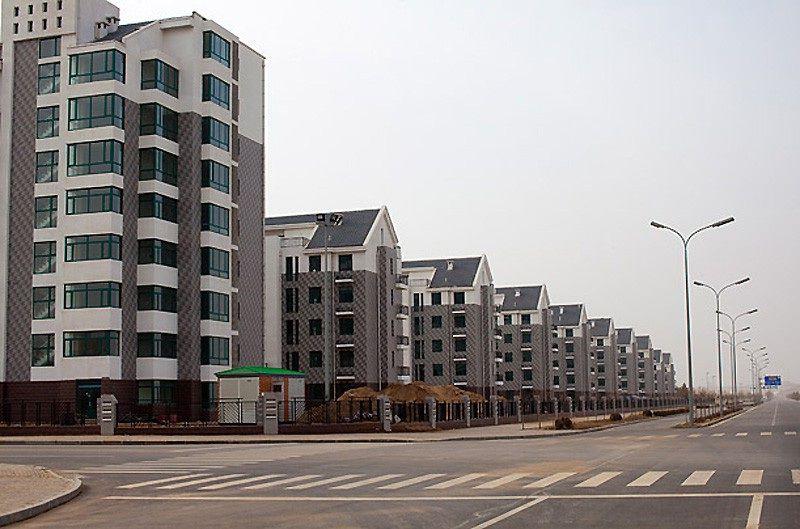 фото городов-призраков в китае