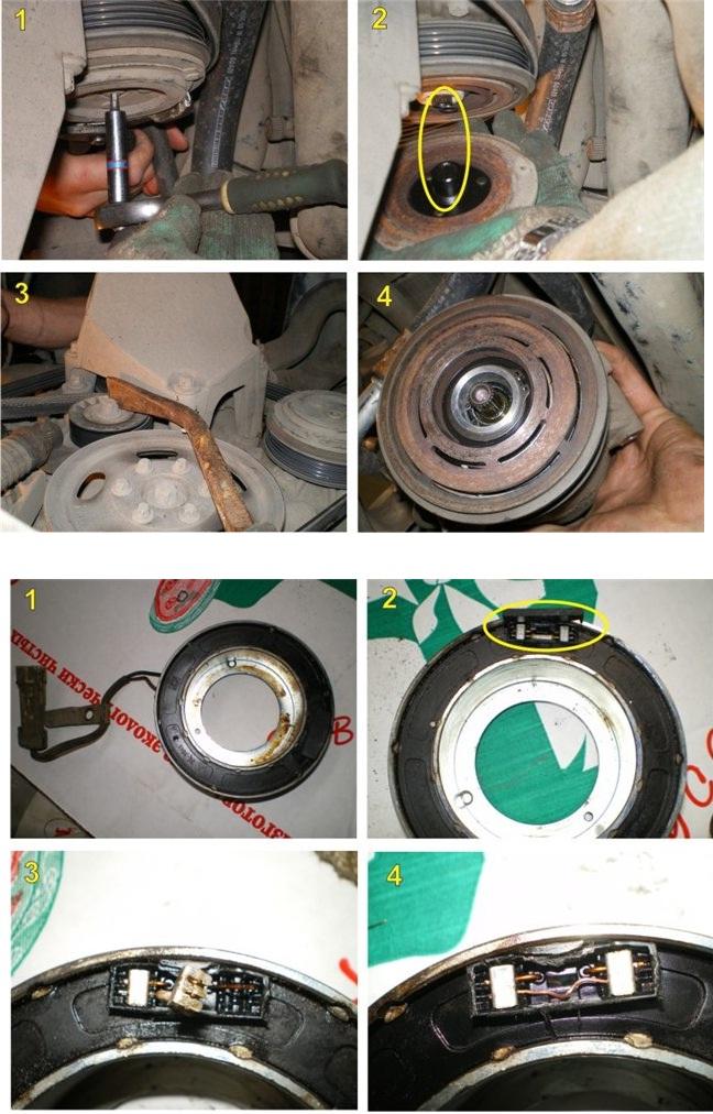 Замена компрессора в кондиционере своими руками