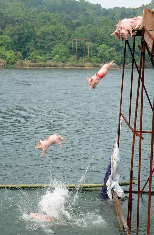 Игра Свинка Пеппа: Прыжки в Воду