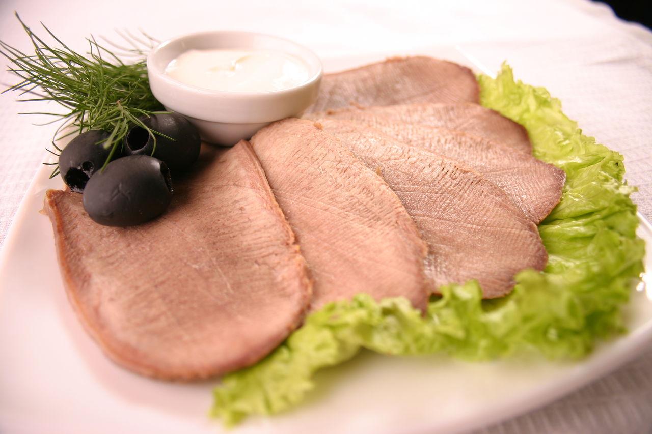Рецепты закусок со свиным языком отварным