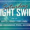 26 июля: Saturday night swim